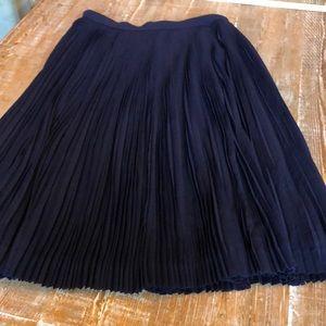 Gorgeous pleated J.Crew skirt